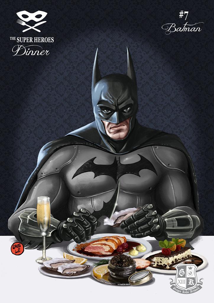 Super Heroes Dinner