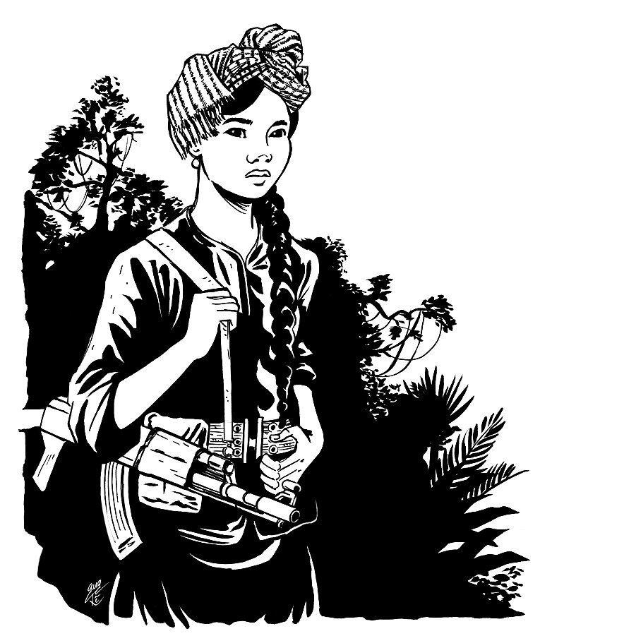 Vietcong Girl